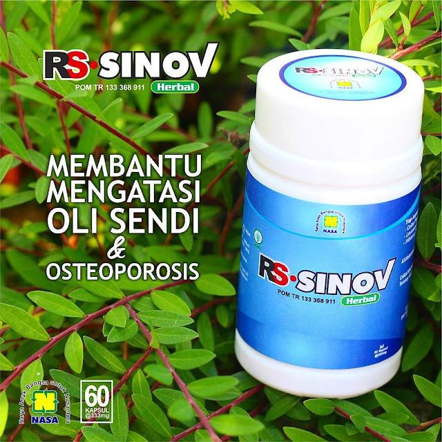 RS-SINOV | Herbal Alami Untuk Mengatasi Nyeri Sendi dan Osteoporosis