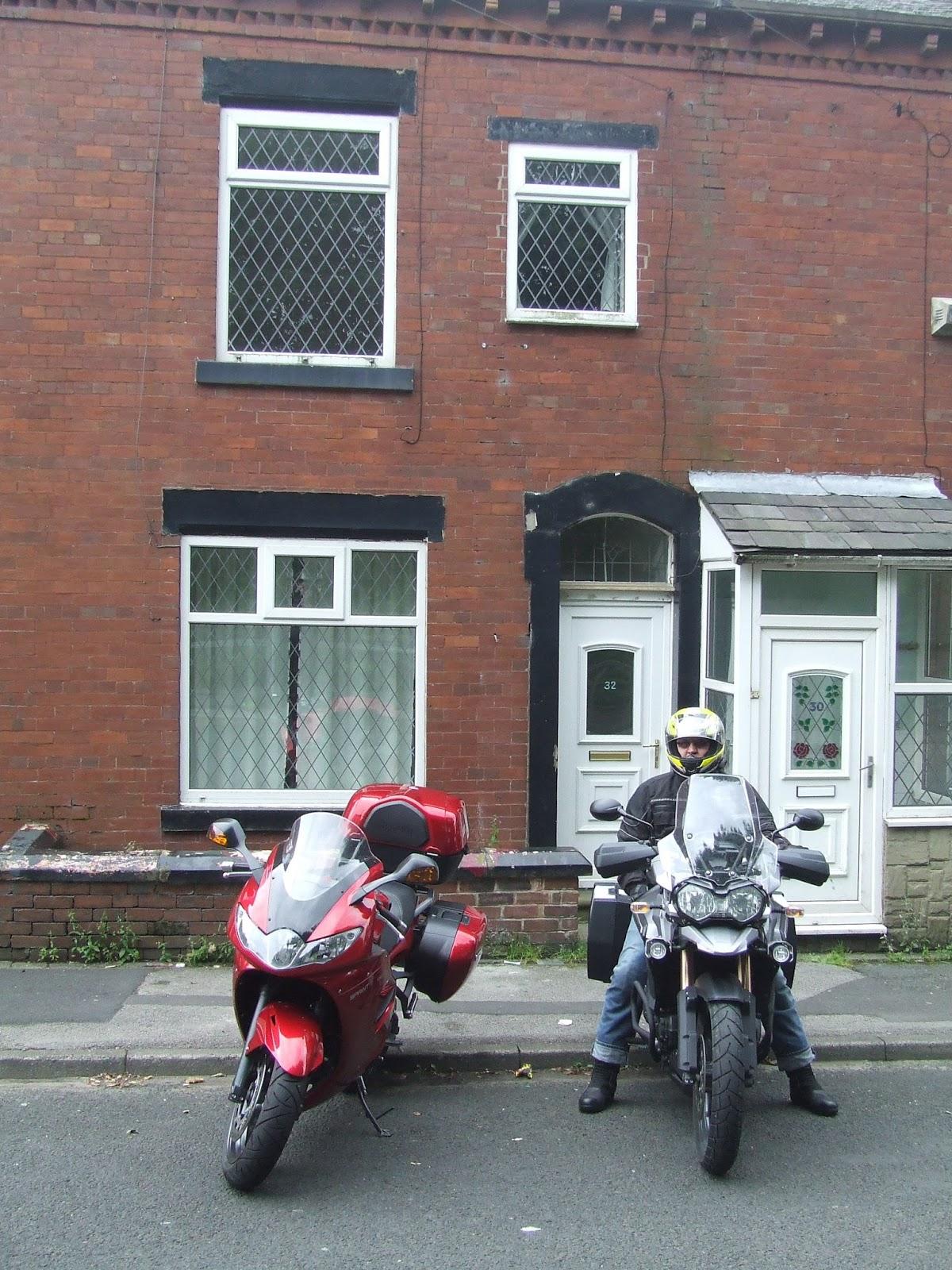 32 Bargap Road, Oldham, Lancashire - home to our Gran Hilda.