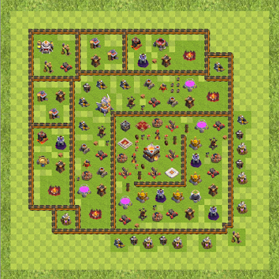 War Base Town Hall Level 11 By oneworld.anoop (anti TH 11 Layout)