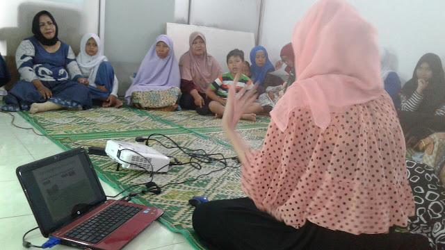 """Peduli Tetangga, DPC PKS Medan Kota Adakan Kegiatan Bertema """"Ibu cerdas dan kreatif"""""""