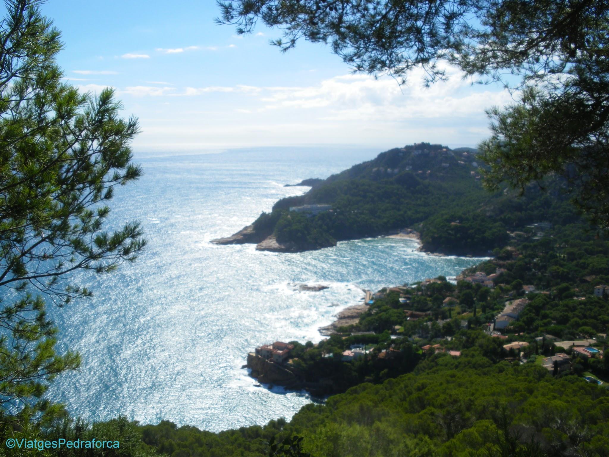 Cales de Begur, senderisme, excursions fàcils per la Costa Brava, Baix Empordà