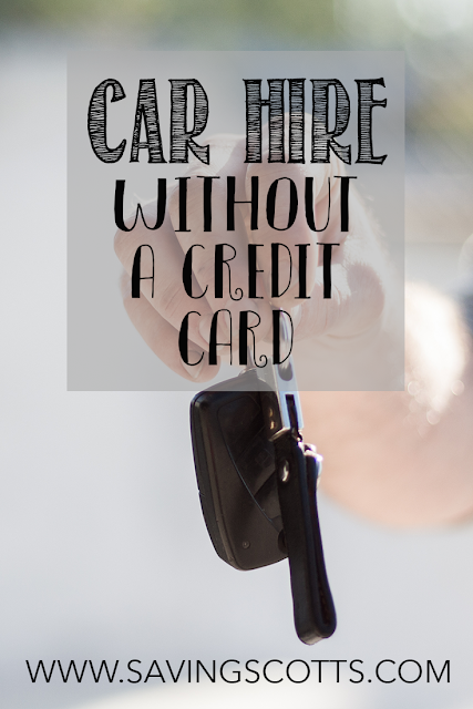 car hire debit card