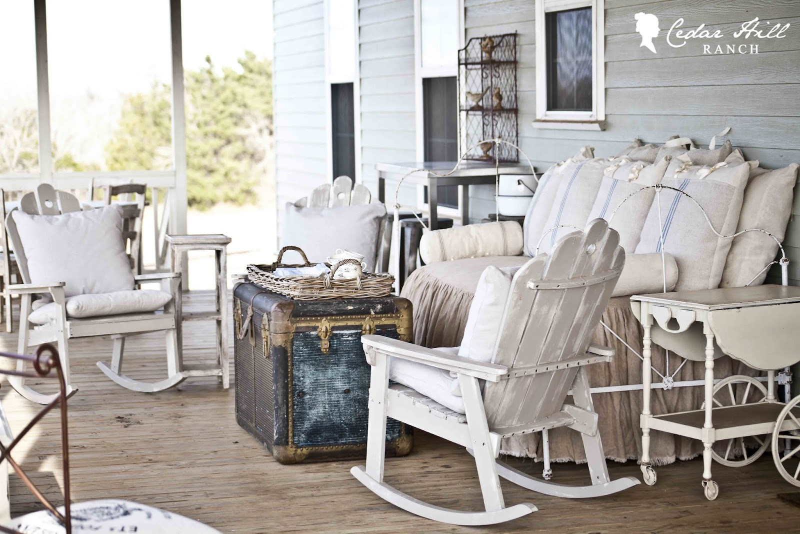 Pretty Spring Porch Guest Post