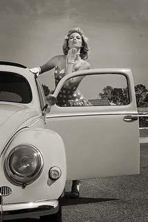 Pin-Up Fusca