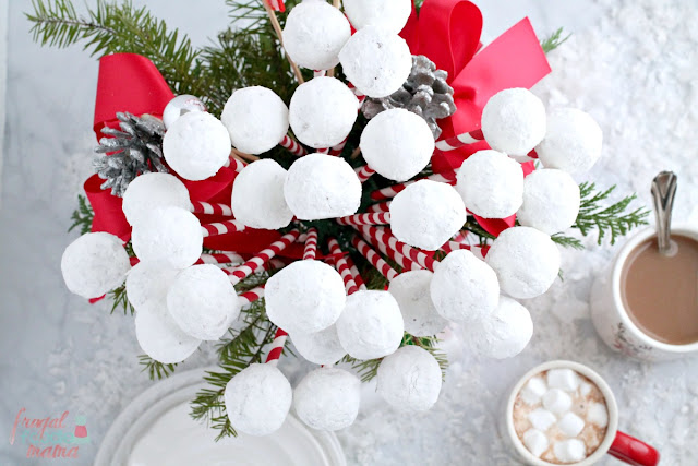 Snowball Donut Hole Bouquet