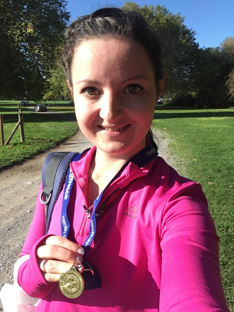 Half marathon finishers medal