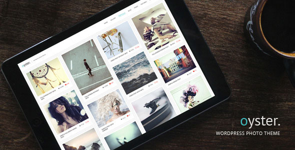 Free Download Oyster V2.9 Creative Photo WordPress Theme