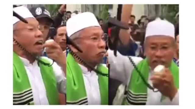 Lelaki Tua Yang Ancam Ahok Bikin Sayembara Rp 1 Miliar Dilaporkan Ke Polisi . .