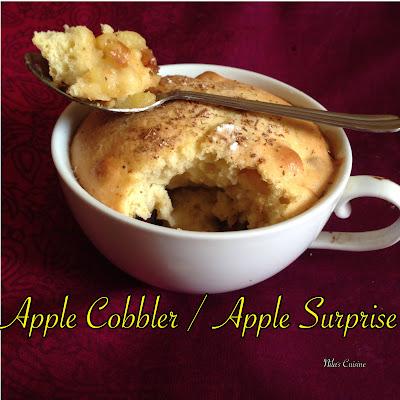 Apple Cobbler / Apple Surprise / Apple Dates Cake