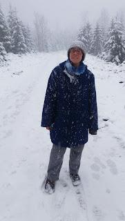 Dani im Schneesturm