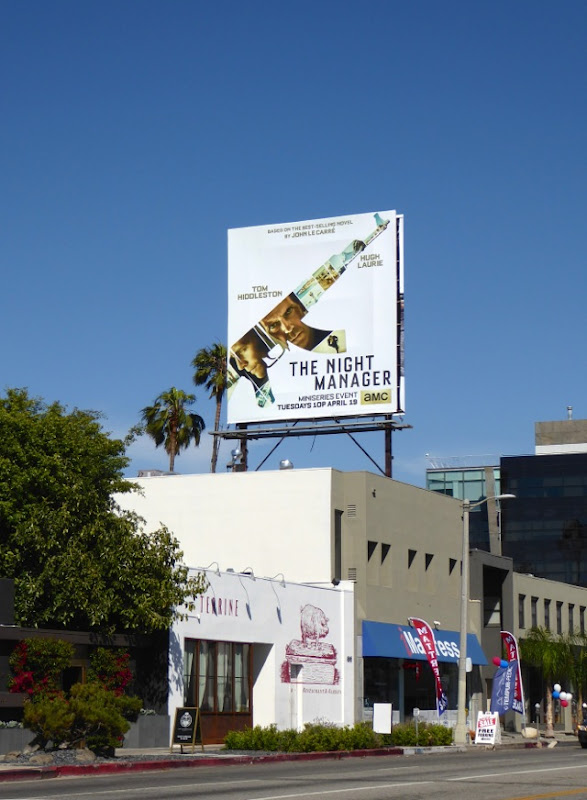 Night Manager TV billboard