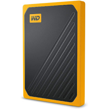 WD My Passport Go 1 TB ámbar
