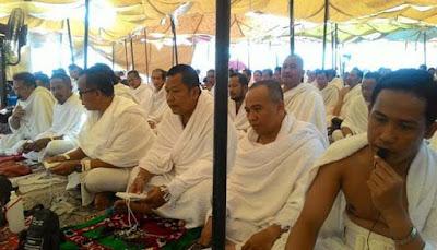 Jamaah Haji Kotabaru Sudah Laksanakan Wajib dan Rukun Haji