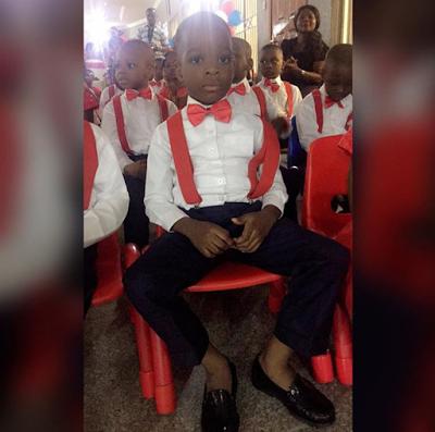 wizkid son graduates kindergarten