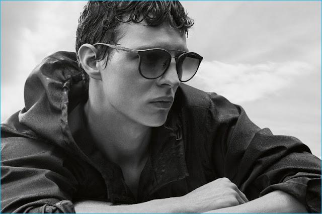 Prada Linea Rossa Men's Sunglasses Campaign 2016