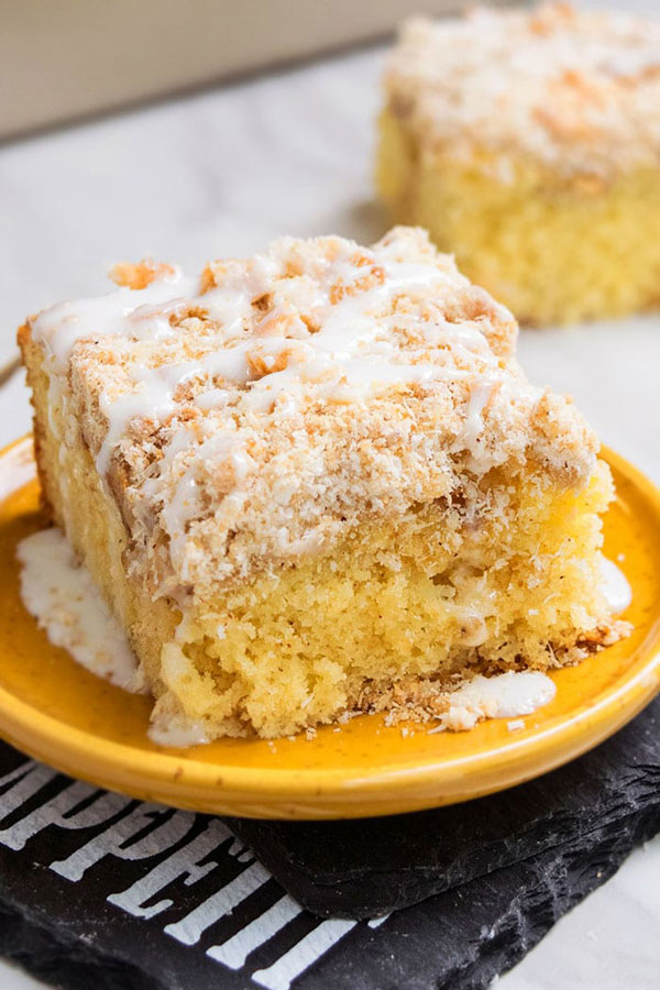 Easy Apple Cake Recipe with Cake Mix - Apple Cake Recipes with Fresh Apples