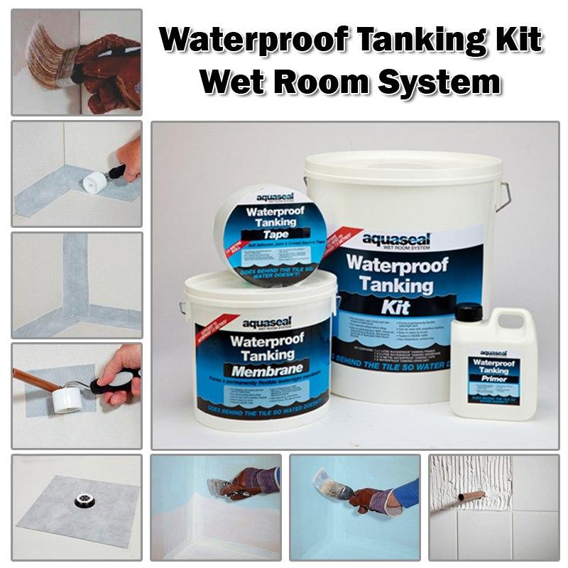 Waterproofing Bathroom Floor Before Tiling: Waterproofing The Bathroom