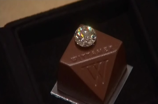 World S Most Expensive Chocolate Praline By Paul Wittamer