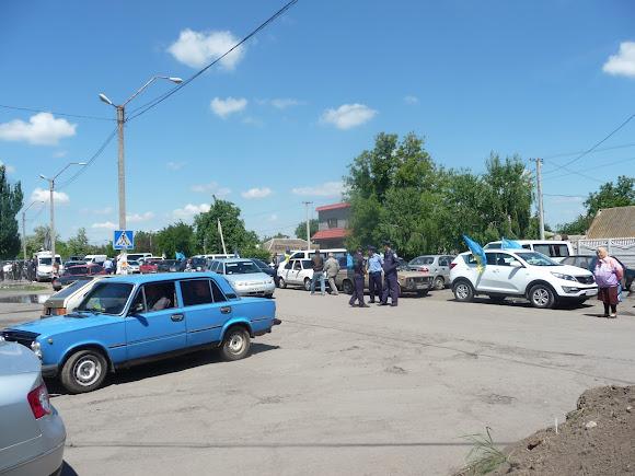 Новоолексіївка. Мітинг в день пам'яті жертв геноциду кримсько-татарського народу