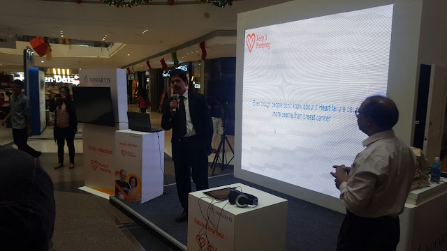 Novartis launches the second leg of its 'Keep it Pumping' initiative to increase awareness of heart failure; invites people to donate virtual heartbeat