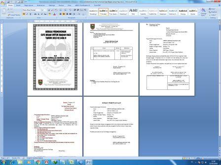 Arsip Kantor Contoh Surat Permohonan Cuti Besar Untuk Haji