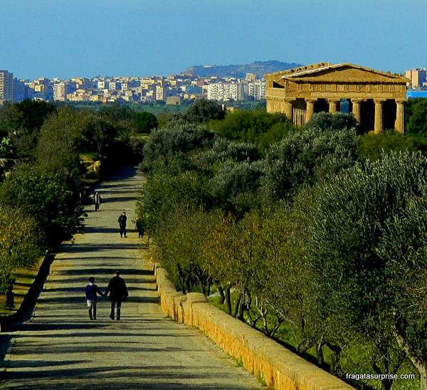 Vale dos templos de Agrigento, Sicília