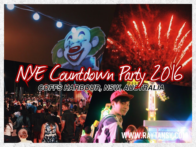 Ray Tan 陳學沿 (raytansy) ; New Year Eve Countdown Party 2016 @ Coffs Harbour, New South Wales, Australia 科夫斯港 澳洲澳大利亞 新南威尔士州