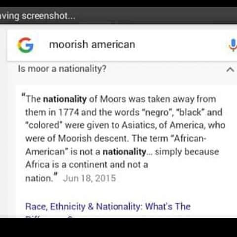 google moorish american nationality