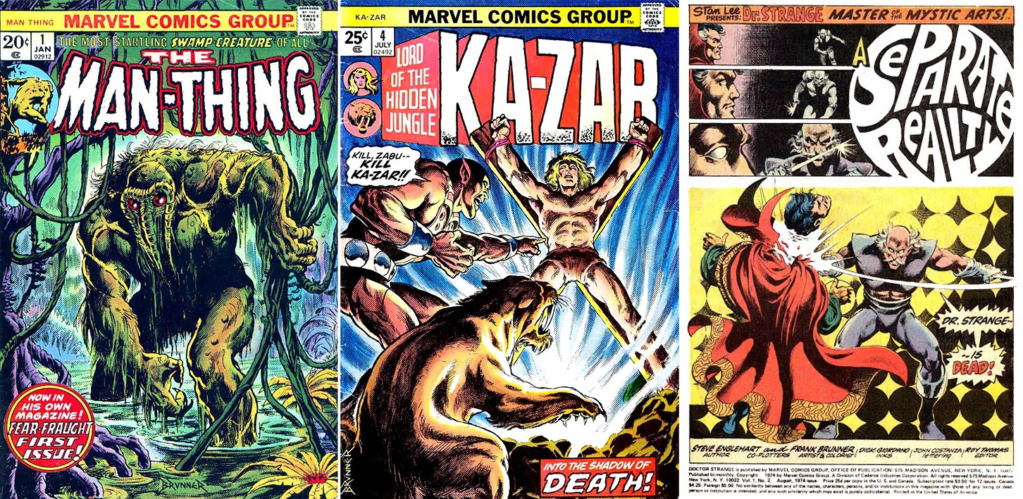 MAKING A MARK: Pros That Need More Press - Frank Brunner