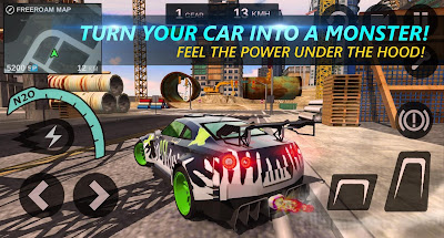 Tampilan Game Speed Legends Open World Racing Android