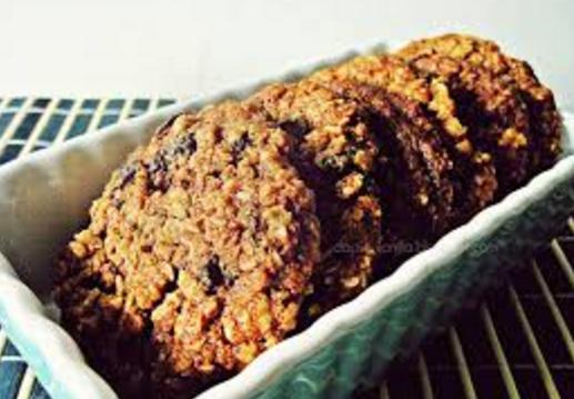 Cara membuat kue resep oatmeal cookies crunchy