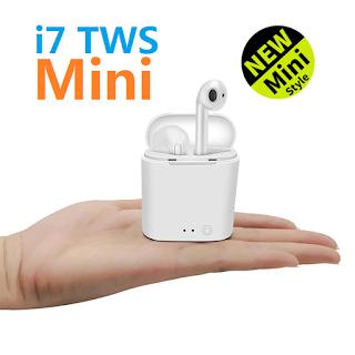mini tws i7s auricolari doppio wireless