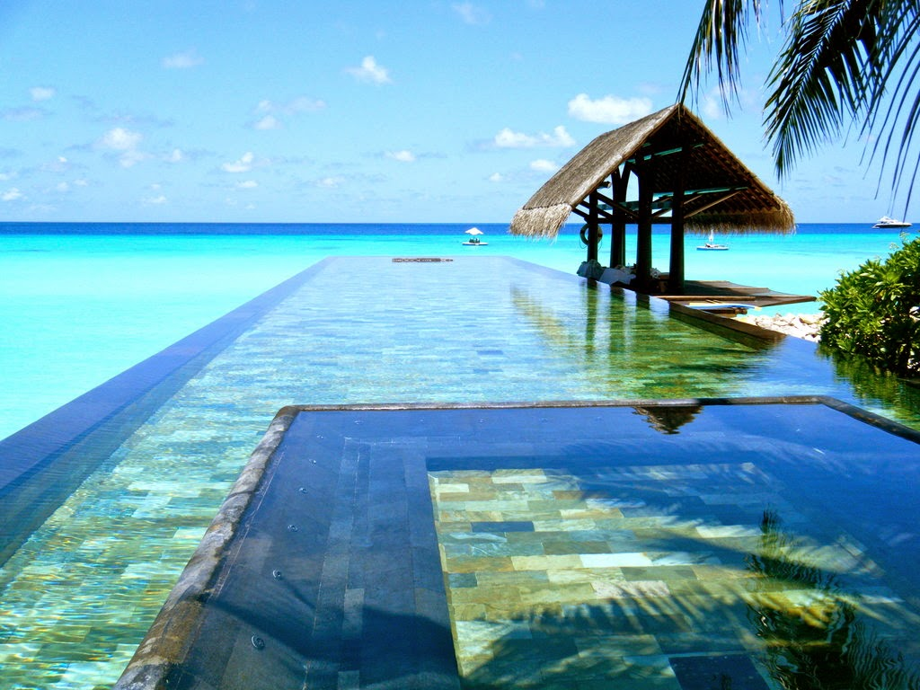 Infinity Pool at the Paradise Island Resort & Spa