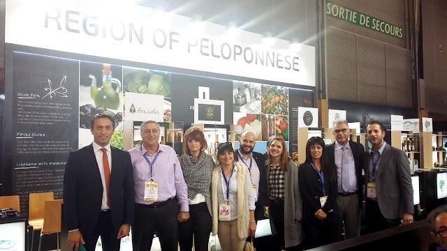 Δυναμική η συμμετοχή της Περιφέρειας Πελοποννήσου στη Διεθνή Έκθεση Τροφίμων & Ποτών Sial Paris 2016»