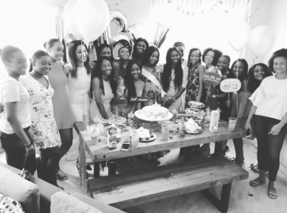 Photos from FFK's daughter, Temi Randle's baby shower