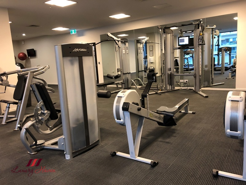 melbourne jazz corner hotel review fully equipped gym