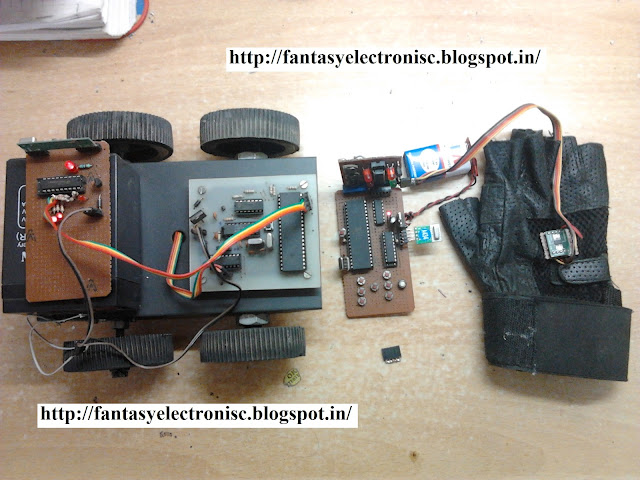 Multicontrol Robot or car using RF module and AVR microcontroller with complete project report, code and circuit diagram.