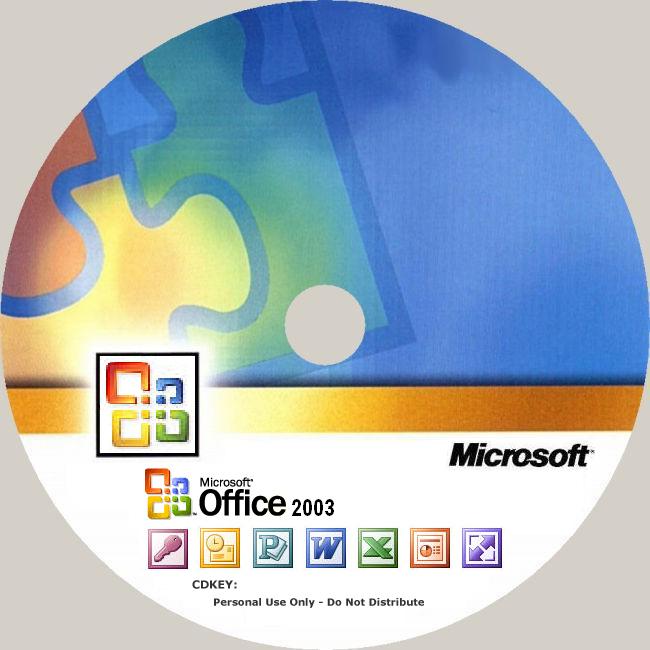 Office] ISO OFFICE MSDN 2003 ORIGINAL (Đã bao gồm key)