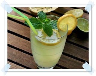 reteta simpla limonada cu lamaie si menta preparare