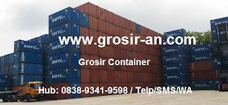 Gambar dan Ukuran Container Bekas