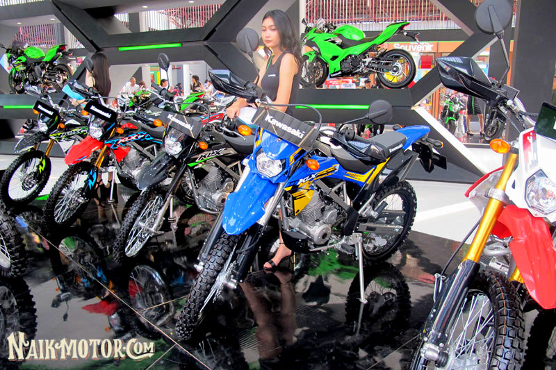 Kawasaki Indonesia Perkenalkan Warna Baru Klx 150bf Se Extreme Di