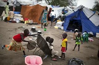 Bor camp, South Sudan