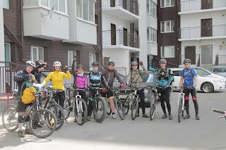 Иркутские велосипедисты