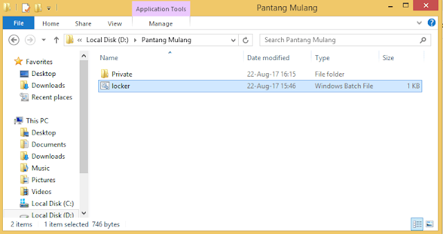 Cara Mengunci Folder di Windows
