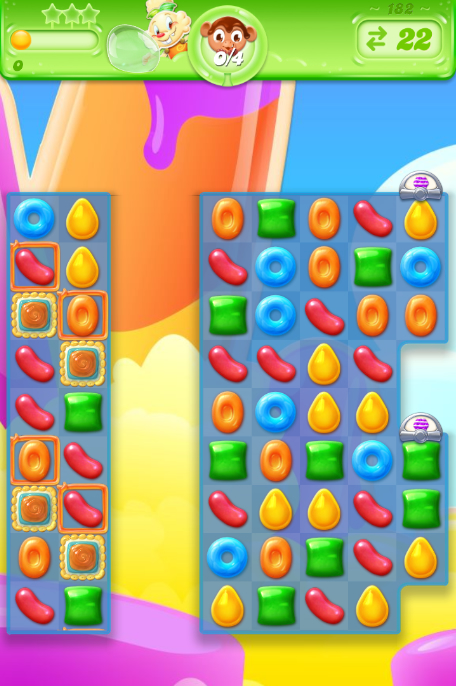 Candy Crush Jelly Saga 182