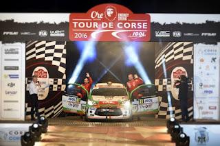 Simone Tempestini si Giovanni Bernacchini-Turul Corsicii-JUNIOR WRC