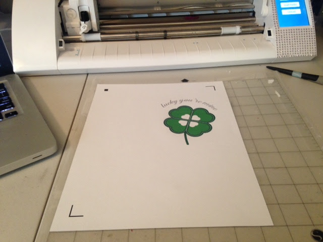 Silhouette Project Ideas for St. Patrick's Day Silhouette CAMEO Rhinestones