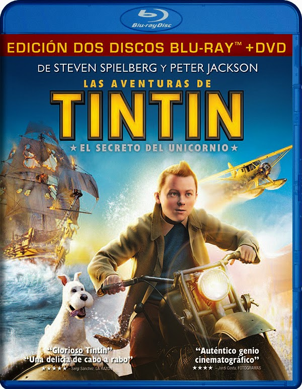 The Adventures of Tintin (2011) Org Untouched Bluray DD 5 1 640Kbps