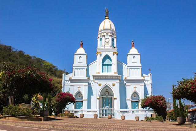 Igreja da Matriz, em São Bento do Sapucaí, na Serra da Mantiqueira