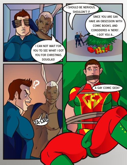 Justice league gay porn comics